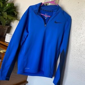 Blue bike therma fit pullover